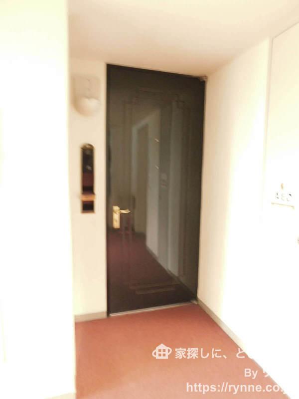 パークコート中落合7280万円のフロア廊下(エレベーター降りてからお部屋まで)1枚目