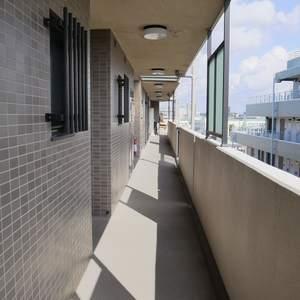 エスバイエルマンション亀戸(5階,3199万円)のフロア廊下(エレベーター降りてからお部屋まで)
