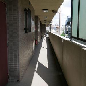 エスバイエルマンション亀戸(2階,)のフロア廊下(エレベーター降りてからお部屋まで)