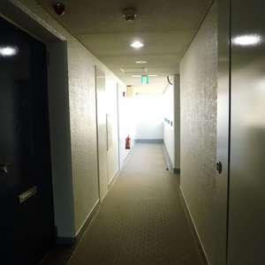 ニュー池袋ハイツ(12階,3699万円)のフロア廊下(エレベーター降りてからお部屋まで)