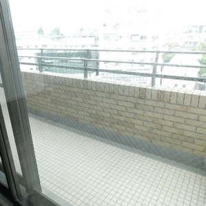パークコート中落合(2階,7980万円)のバルコニー