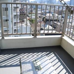 エニス小石川ウエスト(8階,)のバルコニー