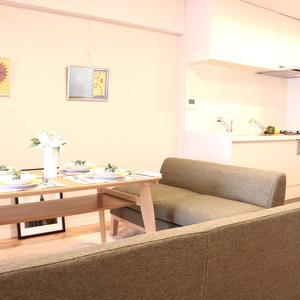 赤門ロイヤルハイツ(11階,)の居間(リビング・ダイニング・キッチン)