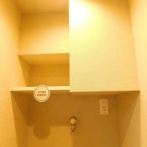 サードリハイツ本館(9階,3599万円)の化粧室・脱衣所・洗面室