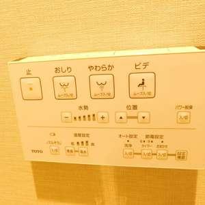 サードリハイツ本館(9階,3599万円)のトイレ
