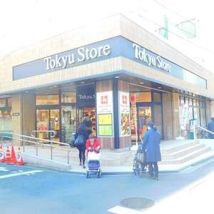 サングリア中目黒の周辺の食品スーパー、コンビニなどのお買い物