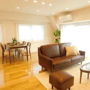 マンション小石川(5階,)の居間(リビング・ダイニング・キッチン)
