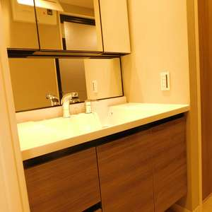 落合シティタワー(7階,6480万円)の化粧室・脱衣所・洗面室