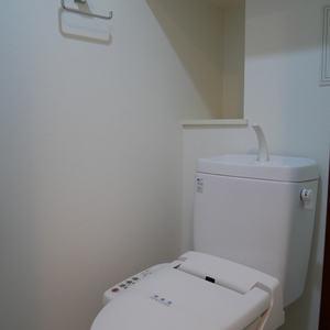 ダイナシティ雷門(2階,3180万円)のトイレ