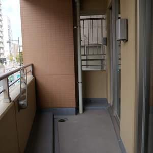 ダイナシティ雷門(2階,3180万円)のバルコニー