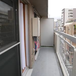 柳恵キングハイツ(6階,)のバルコニー