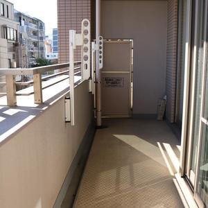 清澄公園ガーデンハウス(4階,5999万円)のバルコニー