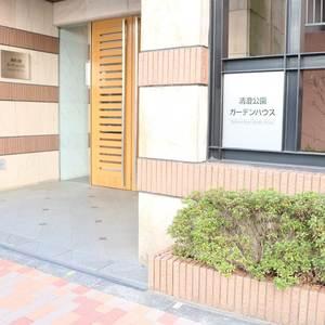 清澄公園ガーデンハウスのマンションの入口・エントランス