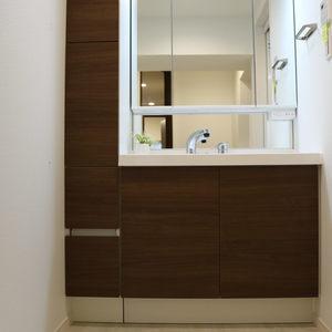 中銀日本橋浜町マンシオン(2階,5480万円)の化粧室・脱衣所・洗面室