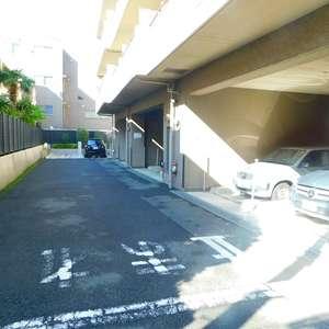 ルイシャトレ早稲田の駐車場