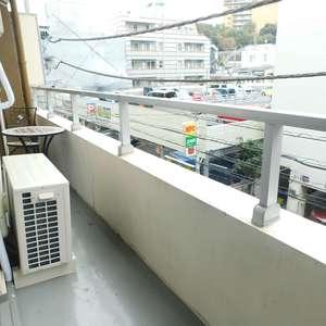 中目黒マンション(3階,)のバルコニー