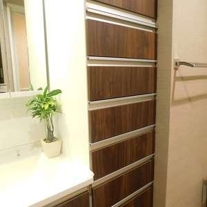 中目黒マンション(3階,)の化粧室・脱衣所・洗面室