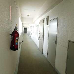 中目黒ハイツ(13階,)のフロア廊下(エレベーター降りてからお部屋まで)