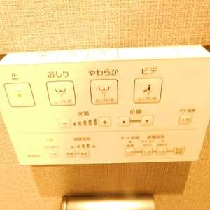 中目黒ハイツ(13階,)のトイレ