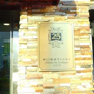 第25宮庭マンションのマンションの入口・エントランス