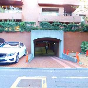 東高原宿ペアシティの駐車場