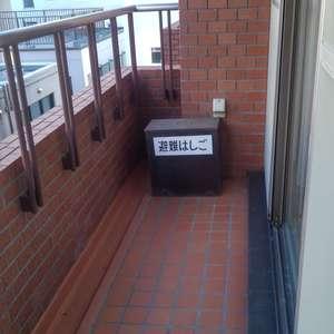東高原宿ペアシティ(4階,)のバルコニー