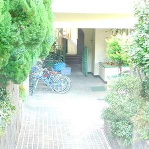 パシフィック哲学堂マンションの駐輪場