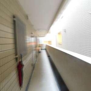 コートアドヴァンス(3階,)のフロア廊下(エレベーター降りてからお部屋まで)
