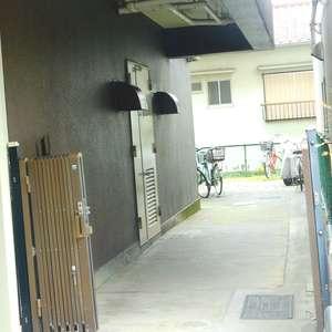 ハイマート早稲田の駐輪場