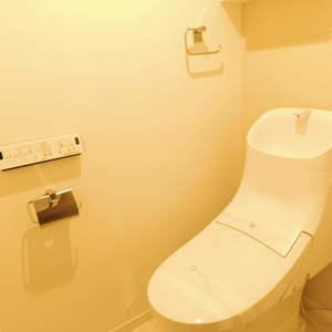 ハイマート早稲田(6階,)のトイレ