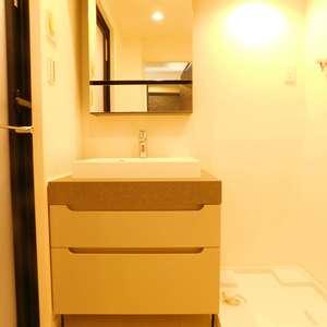 クレセントマンション(5階,5980万円)の化粧室・脱衣所・洗面室