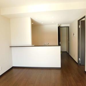 牛込台マンション(4階,)の居間(リビング・ダイニング・キッチン)