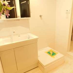 牛込台マンション(4階,)の化粧室・脱衣所・洗面室