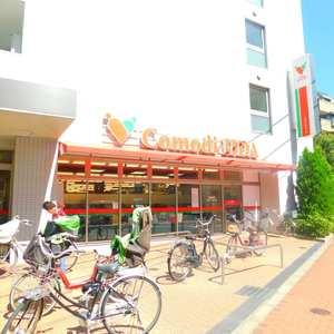コートアドヴァンスの周辺の食品スーパー、コンビニなどのお買い物