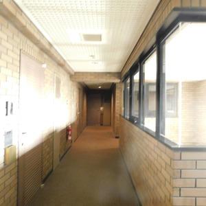 ライオンズガーデン駒込(3階,)のフロア廊下(エレベーター降りてからお部屋まで)