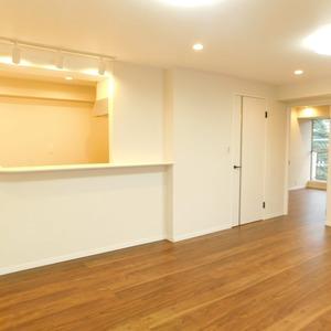高田マンション(4階,)の居間(リビング・ダイニング・キッチン)