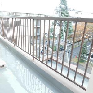 高田マンション(4階,)のバルコニー