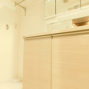 高田マンション(4階,)の化粧室・脱衣所・洗面室
