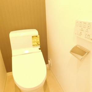 高田マンション(4階,)のトイレ