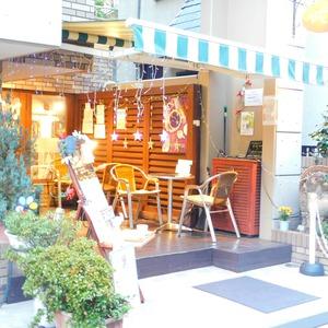高田マンションのカフェ