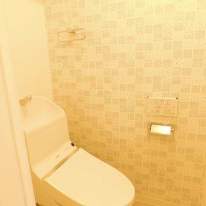 ベルメゾン小石川植物園(5階,)のトイレ