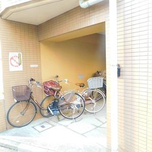 マイキャッスル小石川の駐輪場
