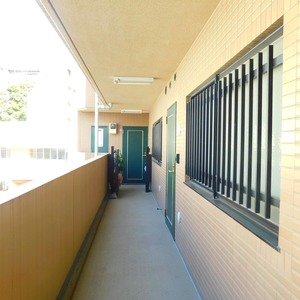 マイキャッスル小石川(3階,)のフロア廊下(エレベーター降りてからお部屋まで)
