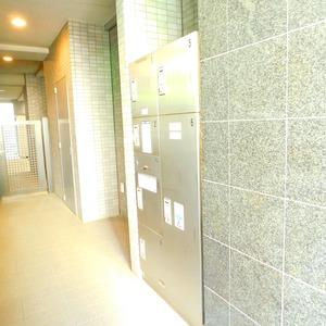 パークサイド小石川植物園のマンションの入口・エントランス