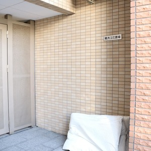 サンパレス駒込壱番館のごみ集積場