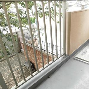 信濃町ハイム(4階,4680万円)のバルコニー