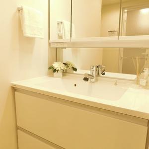 信濃町ハイム(4階,4680万円)の化粧室・脱衣所・洗面室