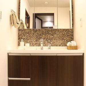 朝日動坂マンション(8階,6997万円)の化粧室・脱衣所・洗面室