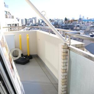 朝日動坂マンション(8階,)のバルコニー