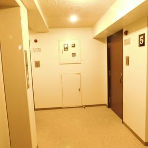 イトーピア渋谷桜ヶ丘(5階,)のフロア廊下(エレベーター降りてからお部屋まで)
